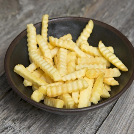 Frozen Crinkle Cut Fries