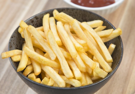 Extra Thin Cut Fries 7/7