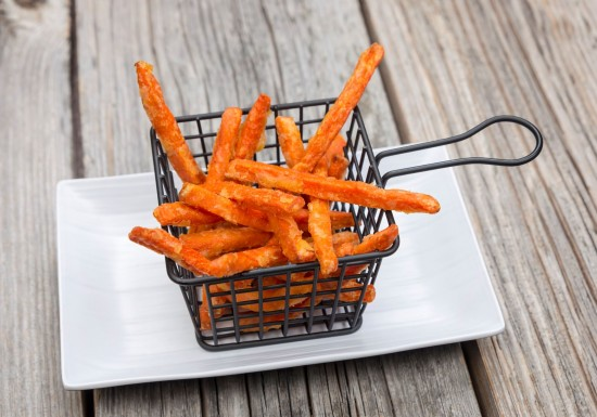 Coated Carrot Fries