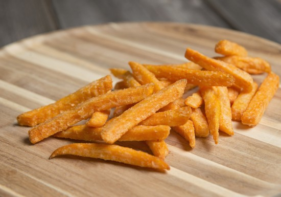 Coated Sweet Potato Fries