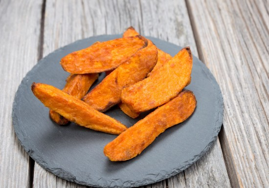 Coated Sweet Potato Wedges